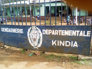 Société: La Gendarmerie Départementale de Kindia décoiffée par une tornade1