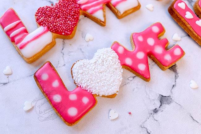 recette biscuits saint valentin