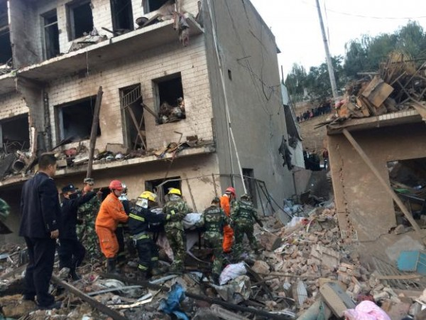A Blast In China, Atleast 10 killed, 157 Were Injured