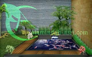 jasa pembuatan kolam koi tangerang
