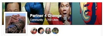Follow Partner4Change Facebook Community Group