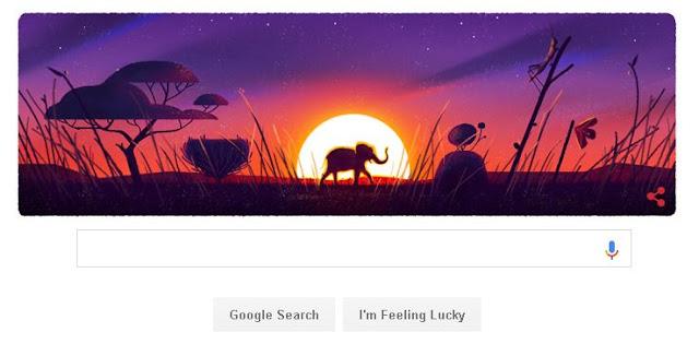 hari bumi internasional google doodle hari ini