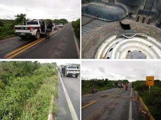 Registrado acidente na ladeira das Gamelas em Nova Floresta