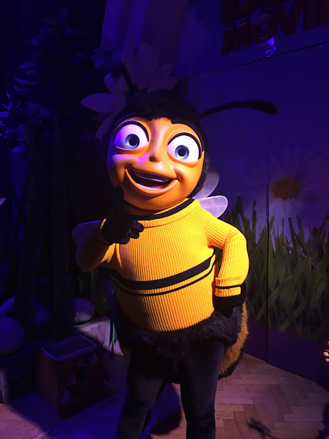 Barry B Benson from The Bee Movie at Shreks Adventures! London
