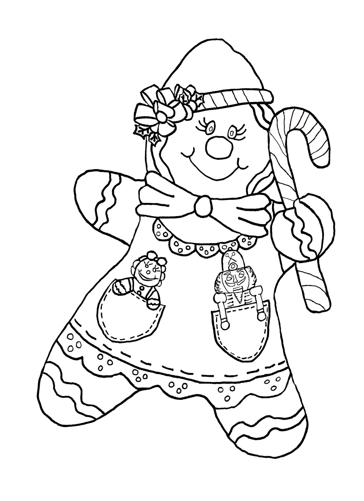 gingerman coloring pages - photo#42