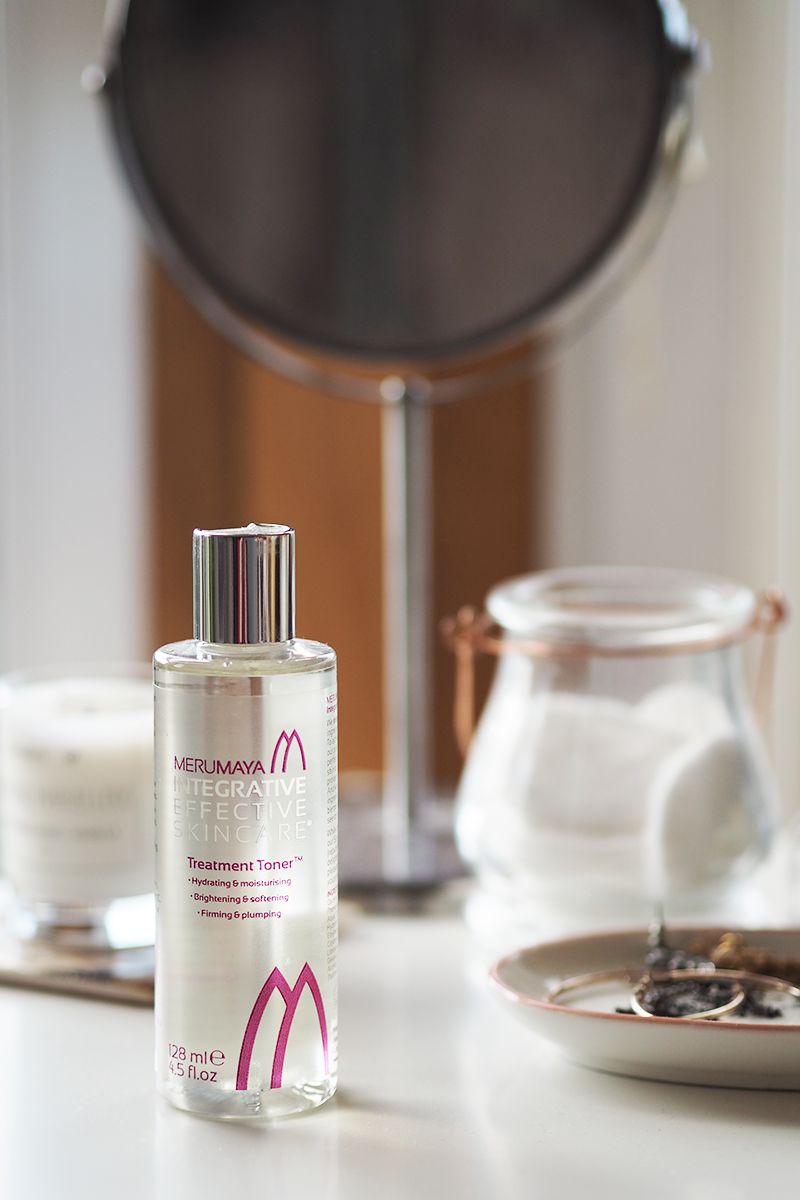 Merumaya Treatment Toner Vitamin C Review Dry Skin | Colours and Carousels - Scottish Lifestyle, Beauty and Fashion blog