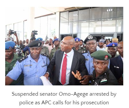Deal with Omo Agege, APC begs Police