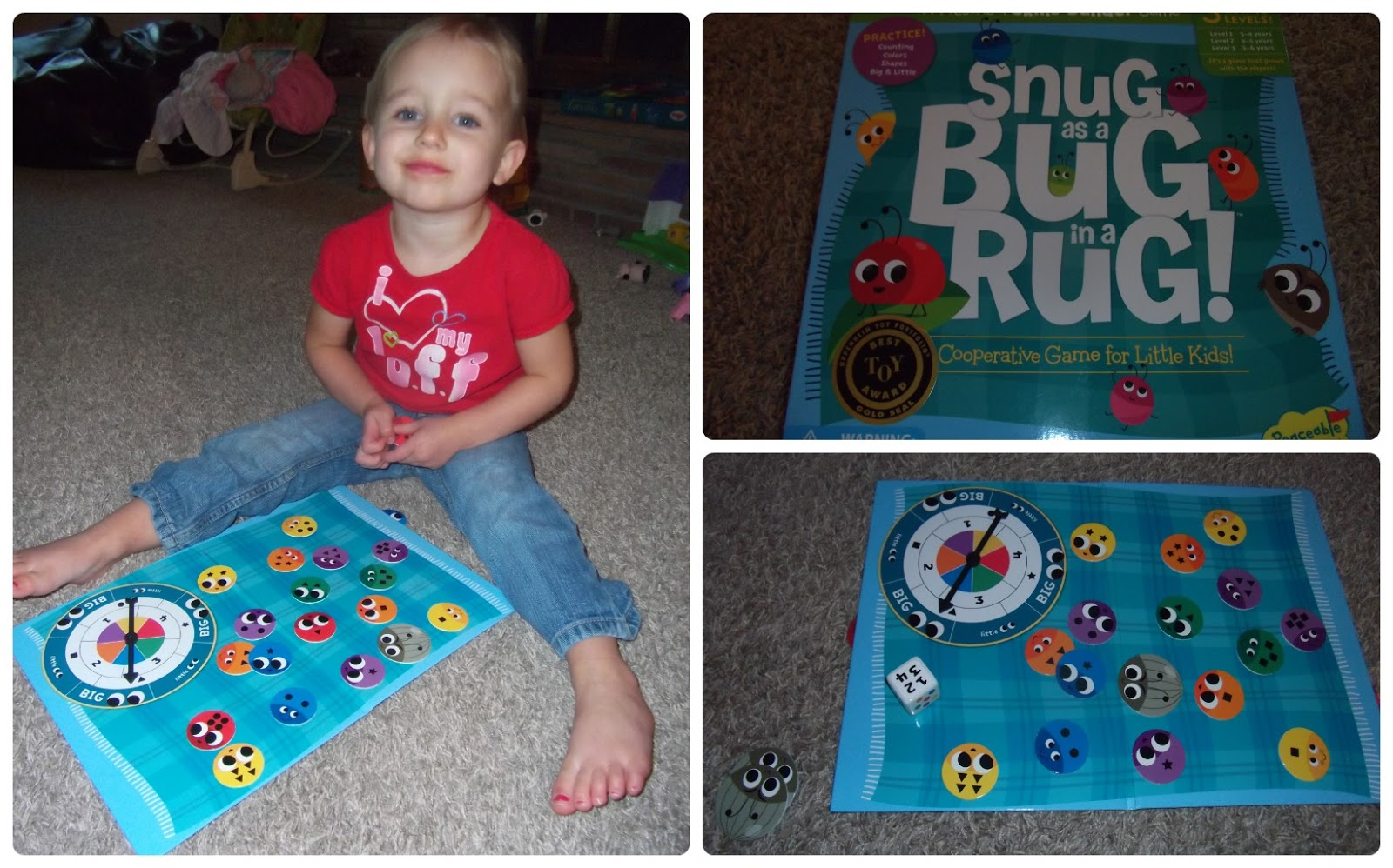 Snug As A Bug In A Rug Board Game Carpet Vidalondon
