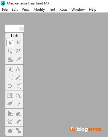 Cara Membuat Gambar Header dg Macromedia Freehand