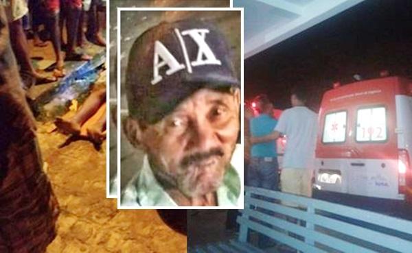 Itapetinga-BA: Idoso atropelado por motoqueiro morre a caminho do hospital em Conquista.