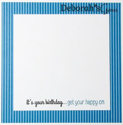 Birthday inside - photo by Deborah Frings - Deborah's Gems