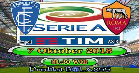 Prediksi Bola855 Empoli vs AS Roma 7 Oktober 2018