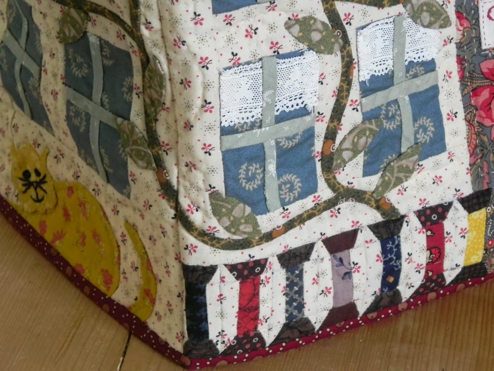 Connysquilts naaimachine hoes af en patroon te koop - Quilts gele ...