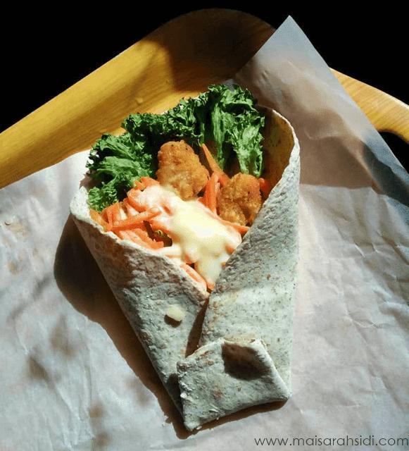 Chicken Cheese Wrap Sedap dan Mengenyangkan
