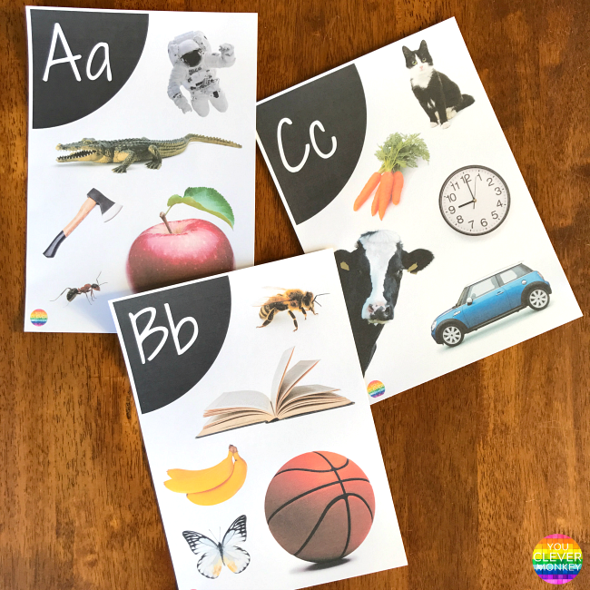 Printable Alphabet Wall Posters | you clever monkey