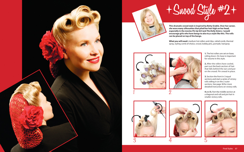 Pin Up Hairstyles For Short Hair: Seussical, Jr.: Girls' Hairstyle Tutorials