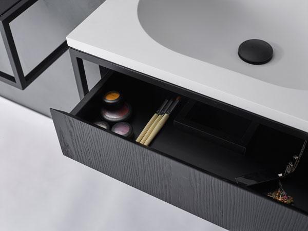 Modułowa konsola łazienkowa Frame Norm Architects