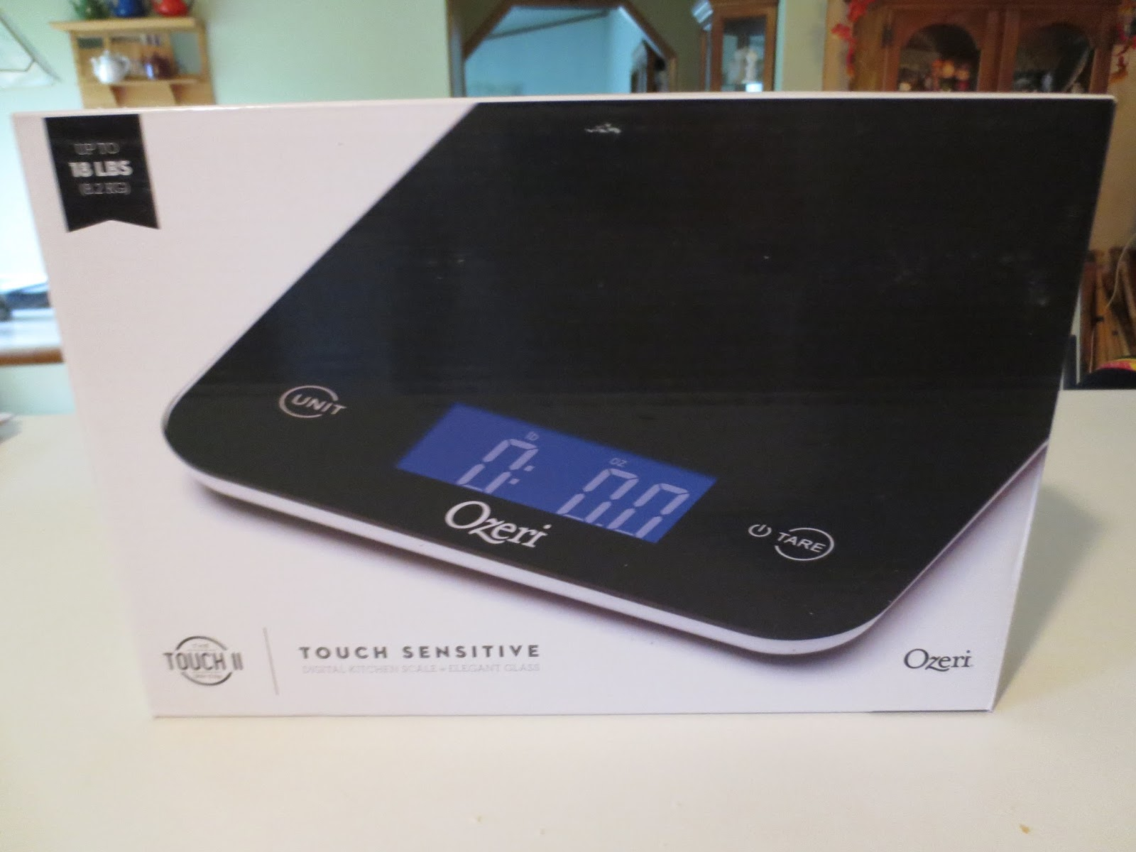 Gloria 39 S Bits And Pieces Get Precise Measurements With Ozeri Touch Professional Digital Kitchen