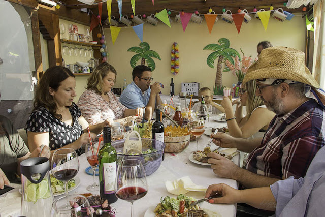 Sommerparty mit Gallo Wein
