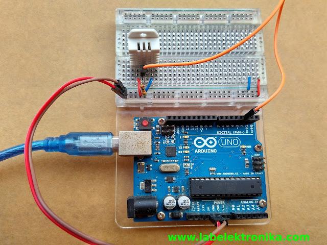 Sensor Suhu danKelembaban denganArduino