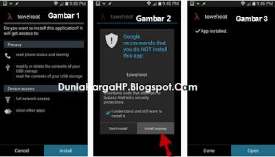 Cara Root Android Dengan TowelRoot Tanpa PC