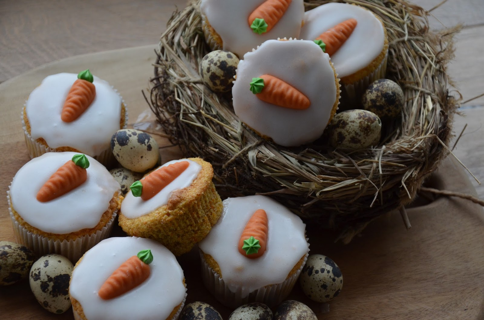 Möhren-Muffins ohne Fett - Rezeptra - Food and More
