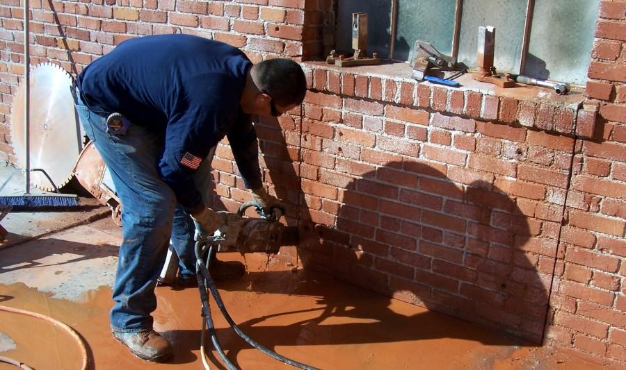 Brick Driveway Image Brick Cutting Tools