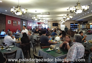 Golfo de Napoli pastas interior restaurante