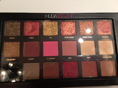 Palette Rose Gold Edition Huda Beauty