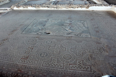 Mosaico de Villa Materno, Yacimiento romano Carranque, mosaico romano, ruinas romanas, Toledo
