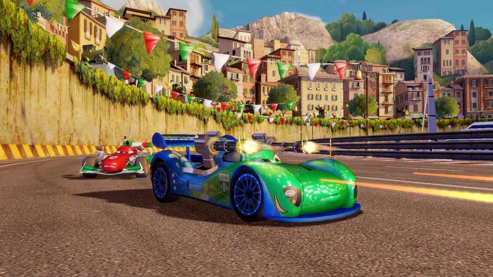 تحميل لعبة Cars 2 مضغوطة برابط واحد مباشر كاملة مجانا