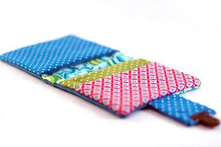 portefeuille original et coloré fait main
