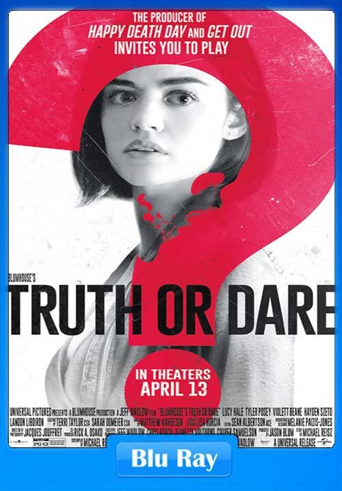 Truth Or Dare 2018 Dual Audio Hindi 720p BLuRay ESubs x264 | 480p 300MB | 100MB HEVC
