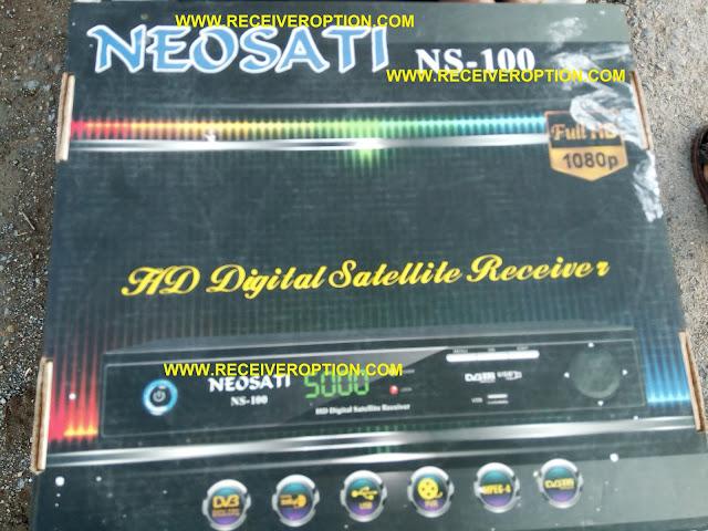 NEOSAT NS-100 HD RECEIVER BISS KEY OPTION