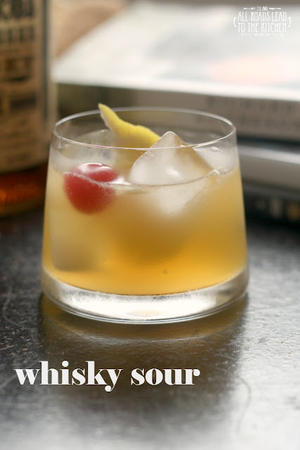 Whisky Sour inspired by I Am Legend