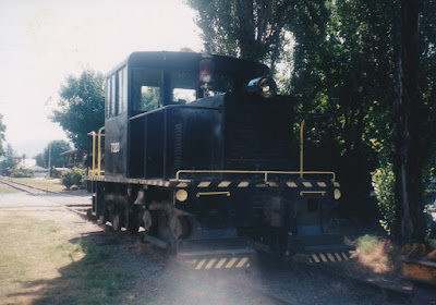 GE 45-Tonner #7320 in Snoqualmie, Washington, in August 1998