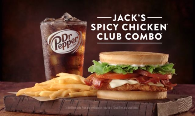 Jack In The Box Offers 499 Spicy Chicken Club Combo