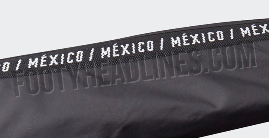 9919050f27ad Black Adidas Mexico 2019 Gold Cup Anthem Jacket Leaked - Footy Headlines