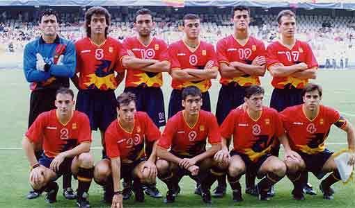 3bb9bd08e07c2 A Espanha enfrentava uma fase turbulenta no futebol em 1992. Após a  eliminação da Eurocopa de 1992 após perder para a Islândia