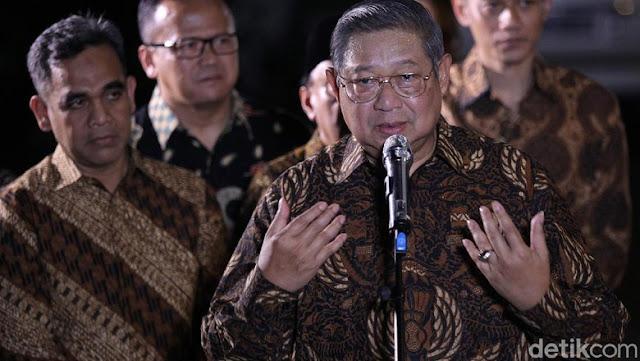 Dipimpin SBY, Demokrat Temui PKS Malam Ini