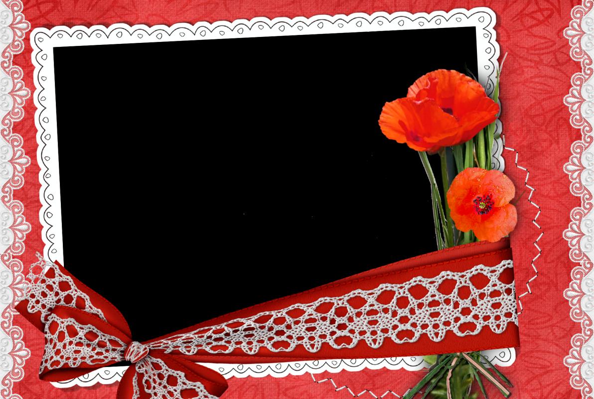 5 Preciosos Marcos para Fotos Románticos. En Png. ~ Marcos Gratis ...