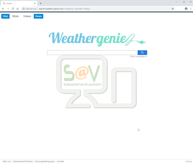 WeatherGenie Search