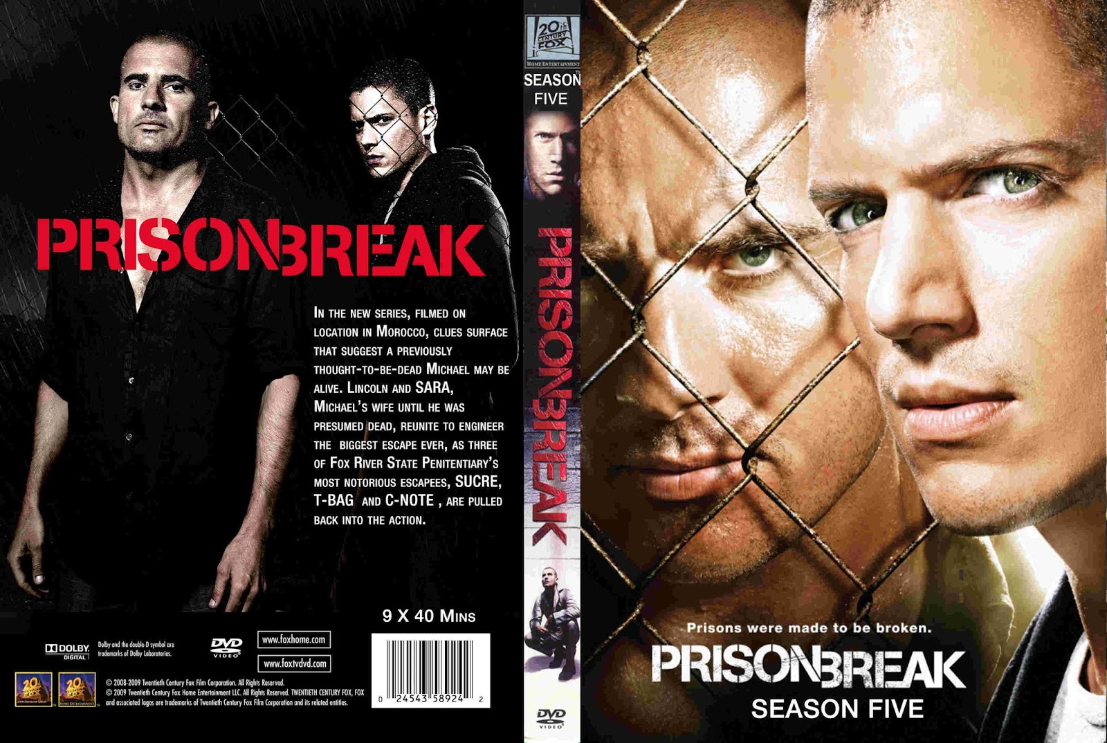 Covers Teste Gtba Prison Break Season 5 2017 Cover