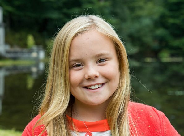 Princess Ariane celebrates her 10th birthday. Princess Ariane as the third child  of King Willem-Alexander and Queen Máxima of the Netherlands