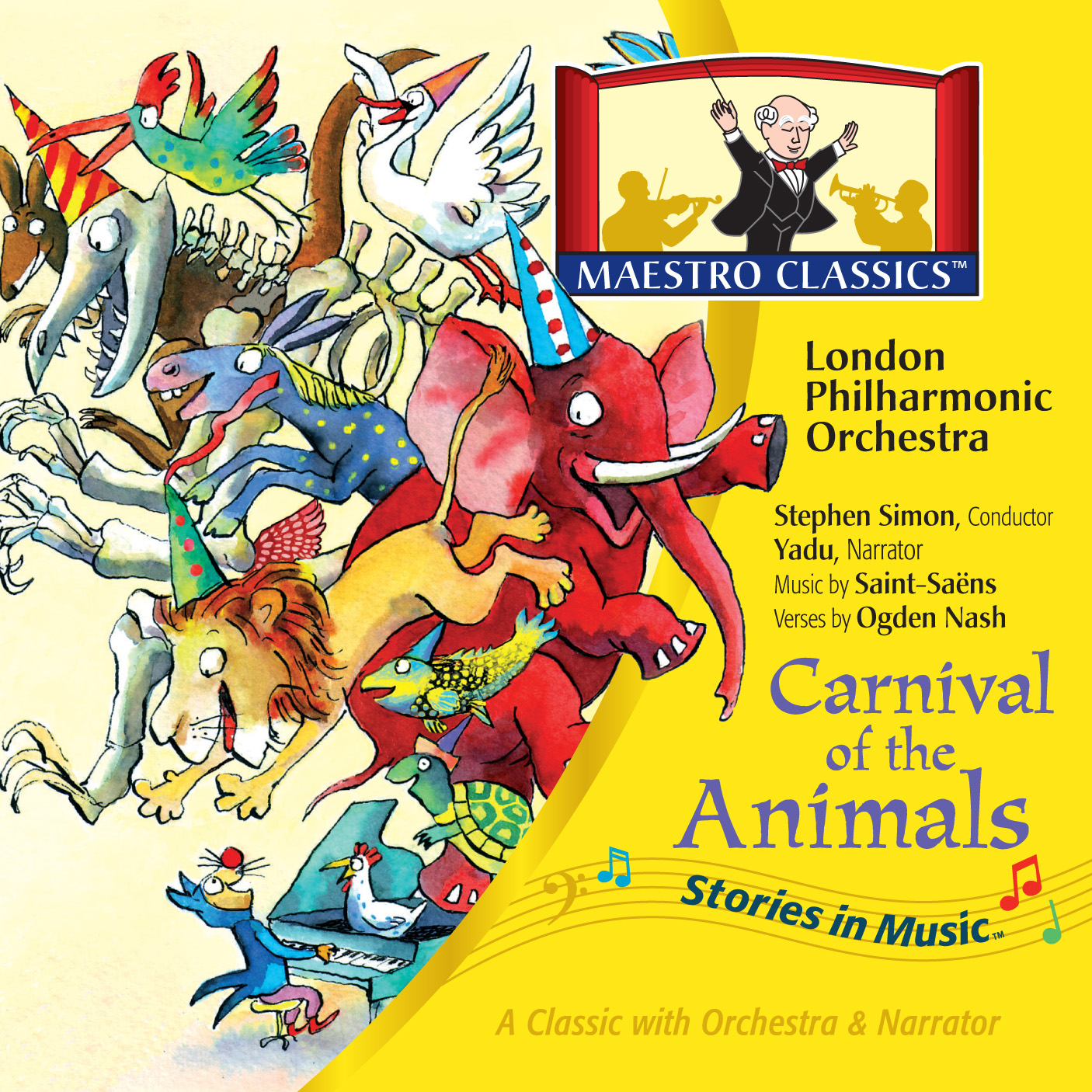 Ps Mom Reviews Maesto Classics Carnival Of The Animals Cd