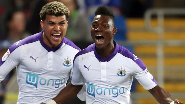 Christian Atsu scored a goal from a freekick for Newcastle United [Video]