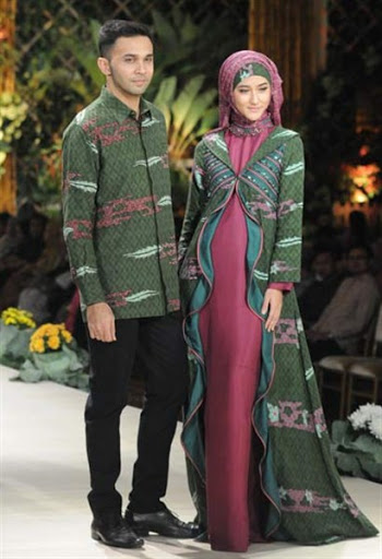 ... Model Baju Muslim Couple Modern Terbaru 2017 2018 1191837b93