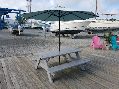 A real vehicle for collaboration -- The Picnic Table with Umbrella