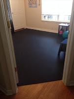 Greatmats Rubber Flooring Rolls 1/4 Inch Home exercise floor