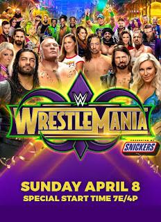 WWE WrestleMania 34 2018